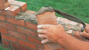 Double Brick Skin Wall