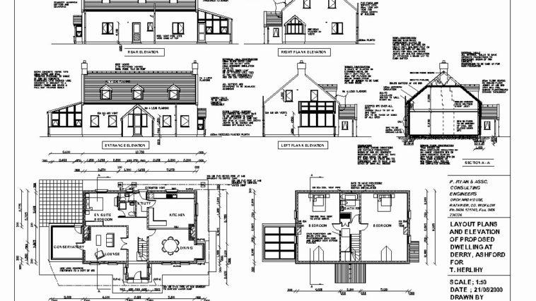 House Plan Construction Drawings
